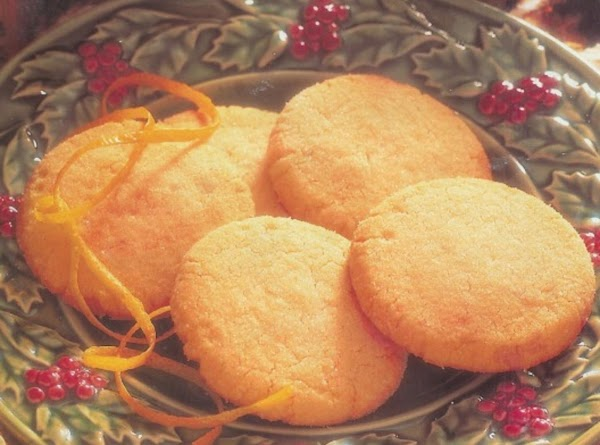 Cashew Lemon Shortbread Cookies Recipe