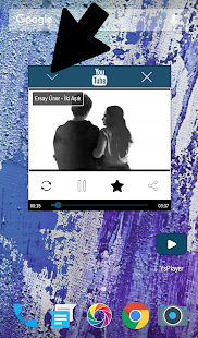 Popup Screen Player For Youtube - náhled