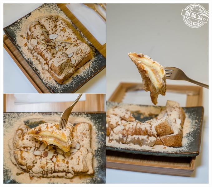 初雪黃豆麻糬吐司