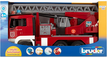 Bruder 1:16 Scale Man Fire Engine