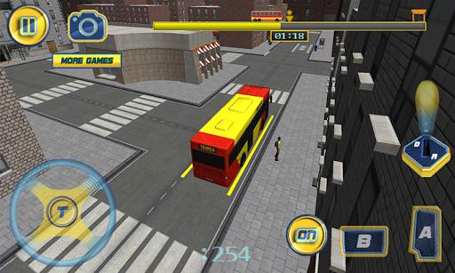 3D巴士驾驶模拟器