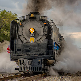 844 UP by Ray Ebersole - Transportation Trains ( steam train, train, tour, steam )