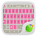 Pink Suit GO Keyboard Theme icon
