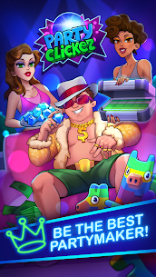 Party Clicker — Idle Nightclub Game Mod Apk (Free Shopping) 5