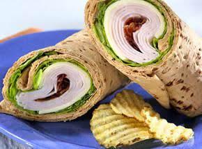 Turkey Club Tortilla Roll-ups Recipe