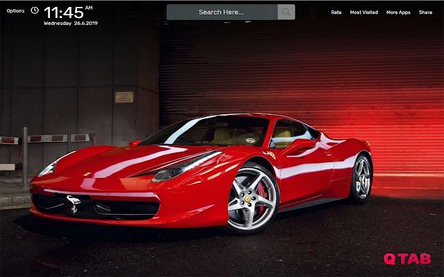 Ferrari Wallpapers HD Theme