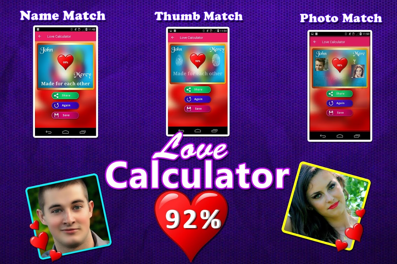 Uncategorized Love Calculator Game Online love calculator match by name photofingerprint android apps screenshot