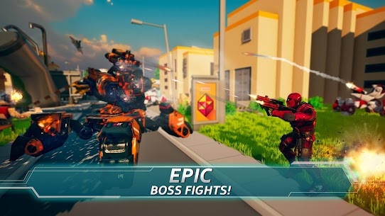 Iron Avenger – Infinite Warfare RPG Apk  Download For Android 3