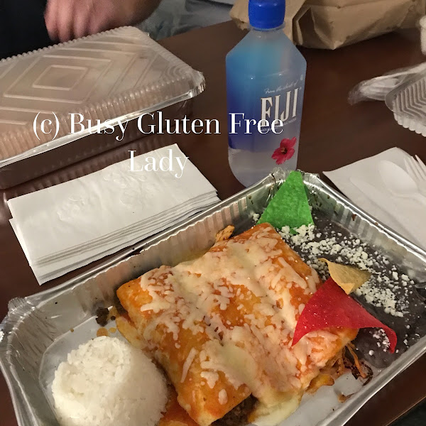 The menu is clearly marked with all the gluten free options !
