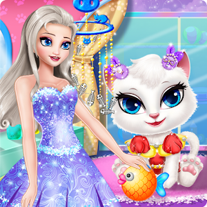 Princess Angela Clean up Cat 2 for PC and MAC