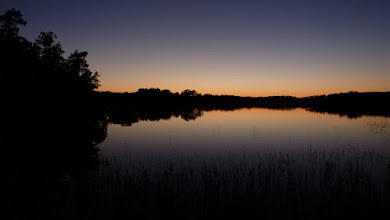 Photo: Finally getting dark at 11 pm