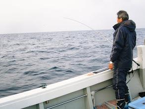 Photo: 今日の予報、昼から天気が崩れるとの事! 午前中のナギにバリバリ釣って下さーい!