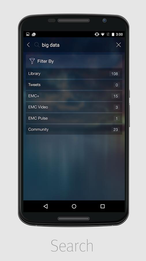 EMC MOBILE- screenshot