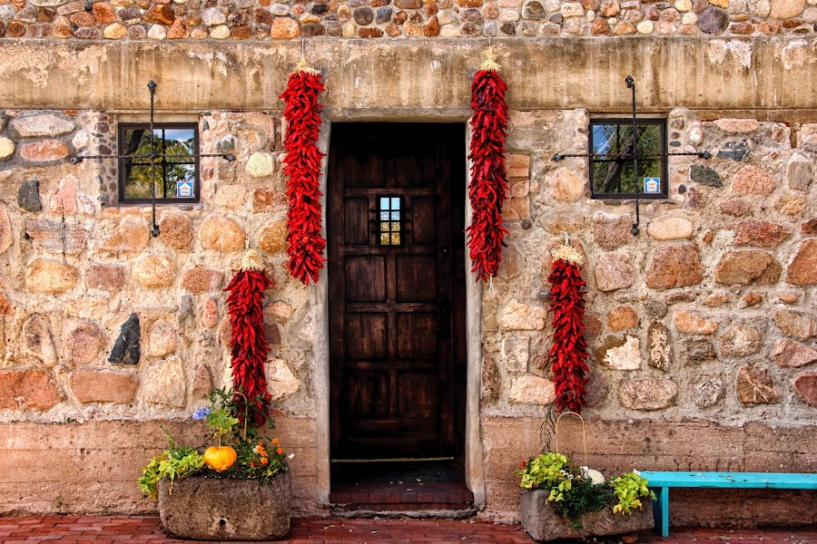 Chile Welcome by Susan Marshall - Buildings & Architecture Architectural Detail ( chair, chile, building, window, door,  )