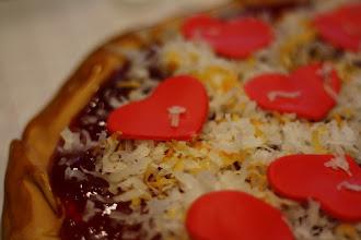 Photo: Valentine's Pizza Cake February 2011 Blog Post: http://createsharerepeat.blogspot.com/2011/02/project-of-week-valentines-pizza-cake.html