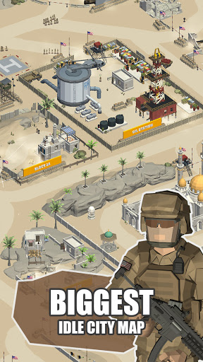Idle Warzone 3d: Military Game - Army Tycoon 1.1 screenshots 1