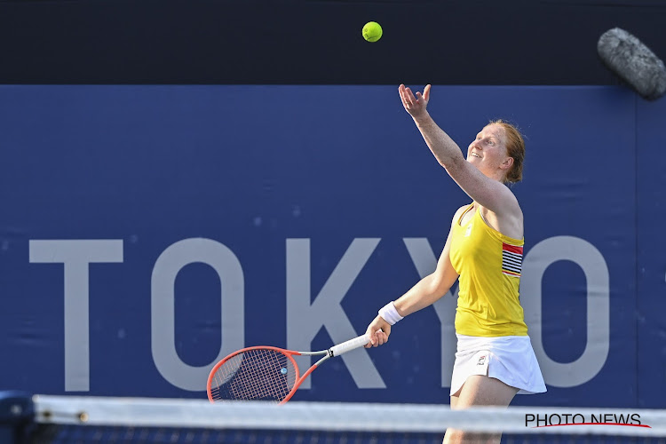 Alison Van Uytvanck uitgeschakeld in de derde ronde