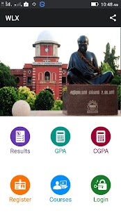 WLX - Anna University Results- screenshot thumbnail