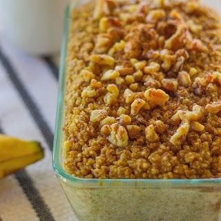 Banana-Walnut Baked Quinoa and Oatmeal