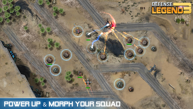 Defense Legend 3: Future War Screenshot 8