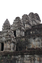 Photo: Year 2 Day 44 -  Outer Wall of Phnom Bakheng
