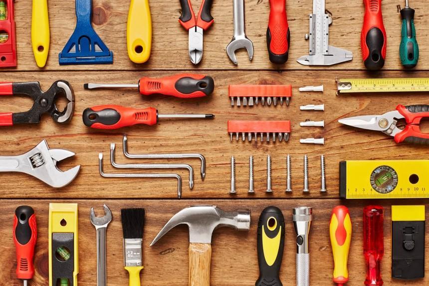 Chuẩn bị đầy đủ dụng cụ giúp quá trình lắp đặt diễn ra nhanh chóng