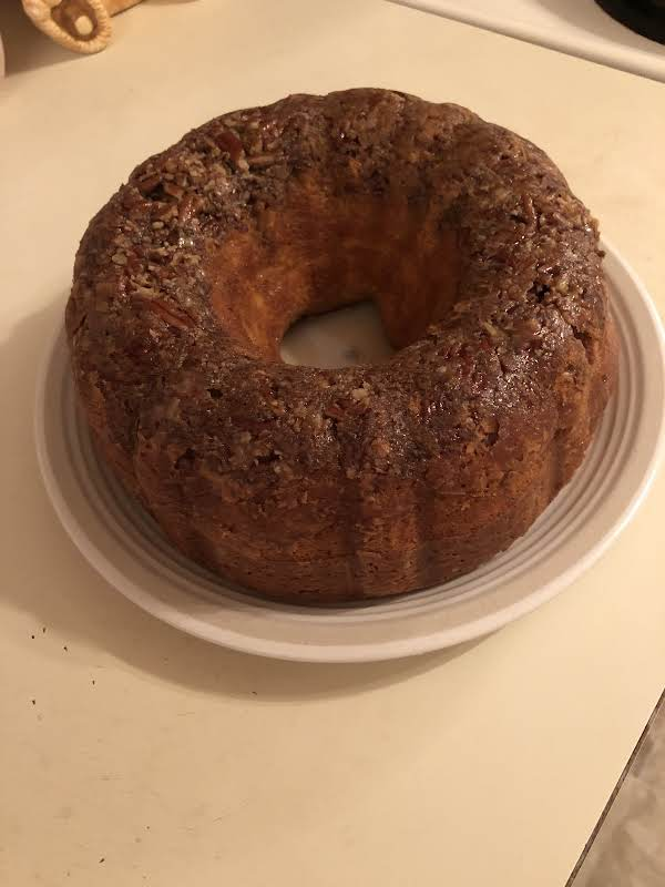 Rum Cake On A Plate