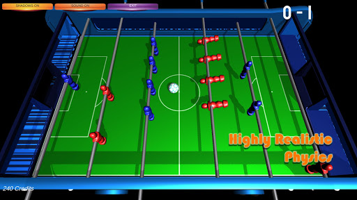 Table Soccer Foosball 3D 1.2.0 screenshots 2