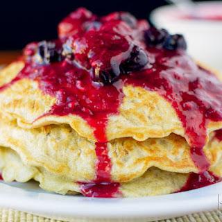 Gluten Free Oatmeal Pancakes.