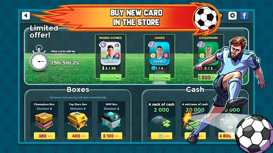 Top Stars Football 1.40.0.0 MOD (Unlimited Money) Apk 7