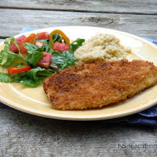 Panko Crusted Tilapia Recipe