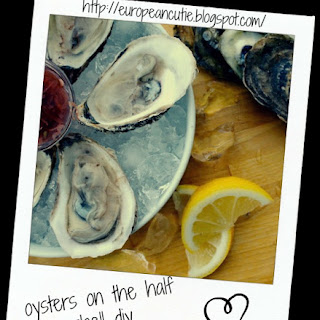 Oysters On The Half Shell Diy