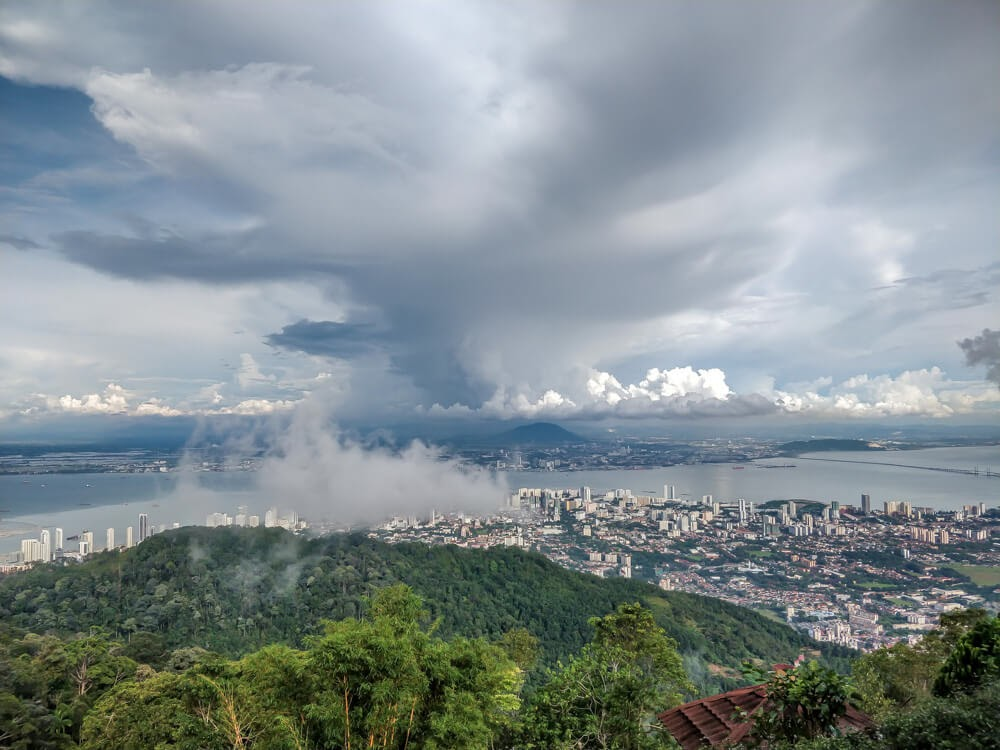 penang+hill+view+penang island malaysia a must vist on your 3 days in penang