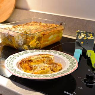 Roasted Squash, Celeriac and Caramelised Onion Lasagne