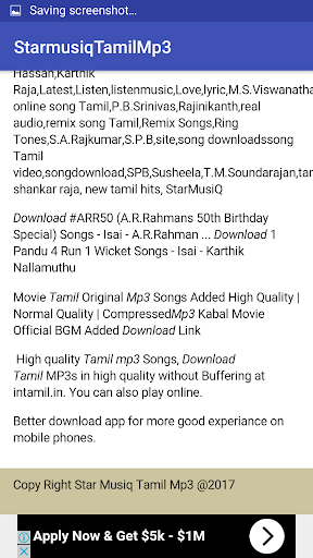 tamil new mp3 song download app