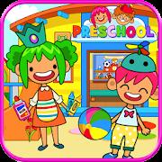 Pretend Preschool - Kids School Learning Games