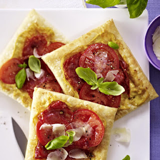 Tomato and Chorizo Tarts
