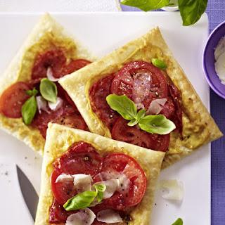 Tomato and Chorizo Tarts.