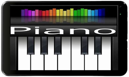 実際のピアノ