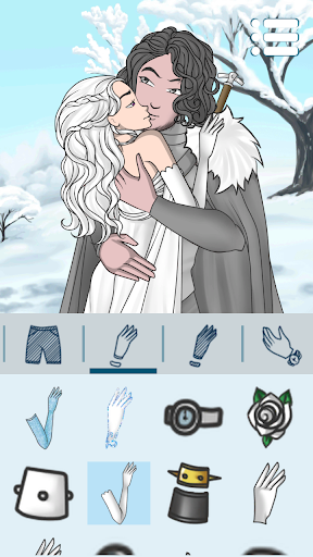 Avatar Maker: Kissing Couple screenshot 16