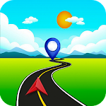 Map GPS Navigation Route Directions Location Live Icon