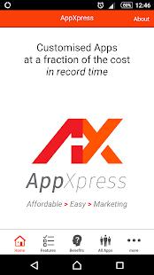 AppXpress - náhled