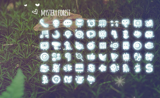 Mystery Forest launcher theme