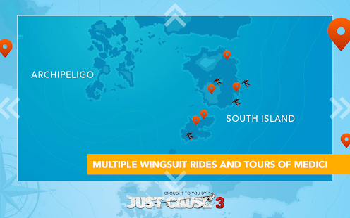 Just Cause 3: WingSuit Tour – képernyőkép indexképe