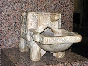 Photo: Ein altägyptisches Klo
