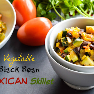 Vegetable Black Bean Mexican Skillet