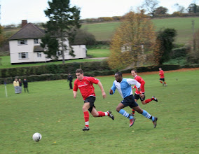 Photo: 13/11/10 v Somersham (Suffolk & Ipswich League Omnico Cup Rd 2) 5-1 - contributed by Martin Wray