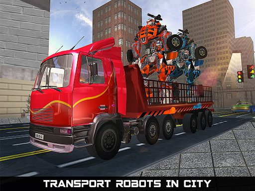 Car Robot Transport Truck  gameplay | by HackJr.Pw 6