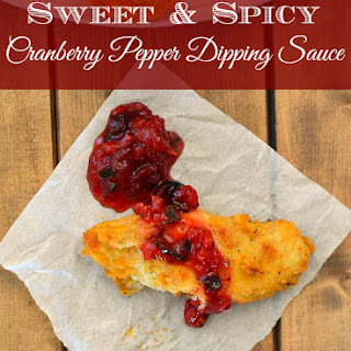 Sweet and Spicy Cranberry Pepper Dipping Sauce.