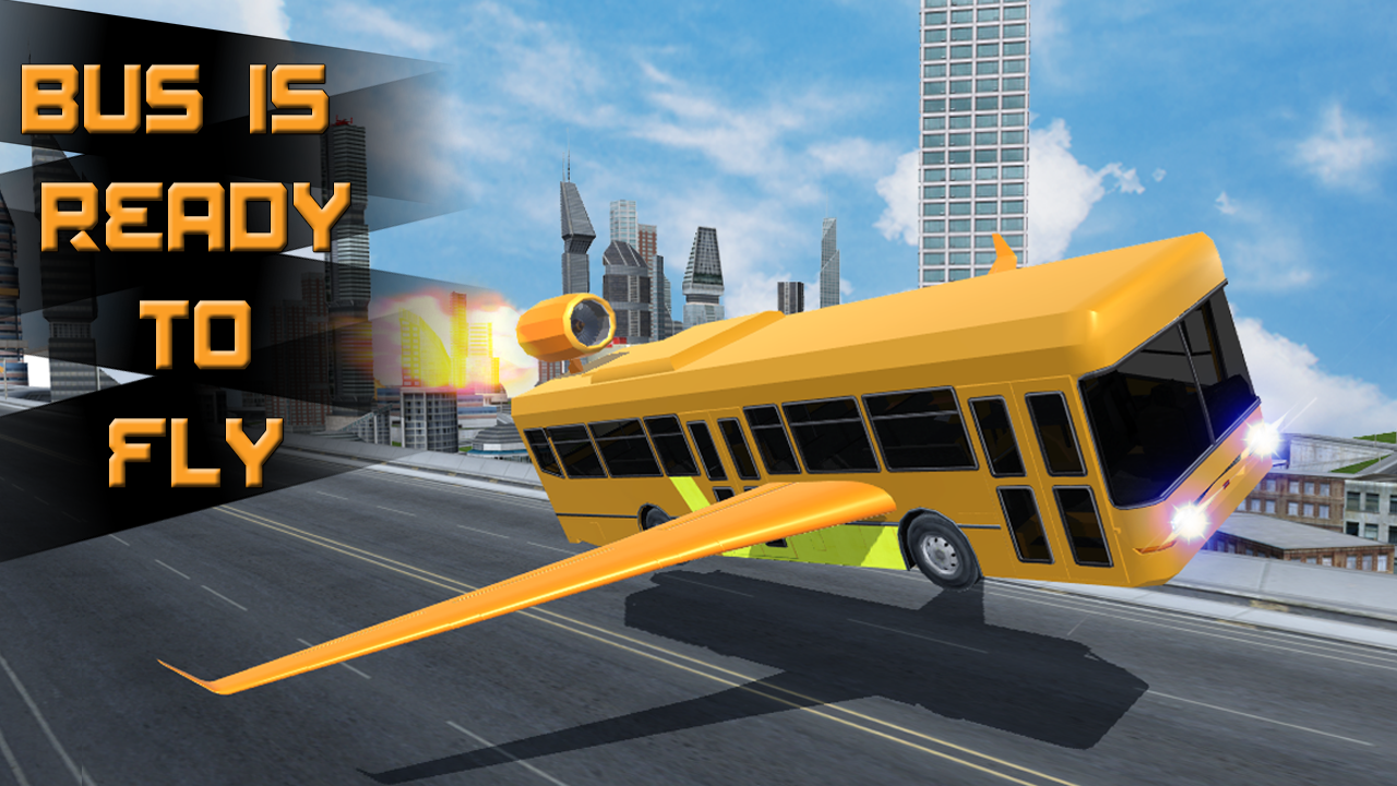 Futuristic Flying Bus Racing Android Apps On Google Play